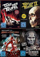 Evil Dead Uncut TANZ DER TEUFEL 1 2 3 Complete Collection +6 HEXEN & DÄMONEN DVD