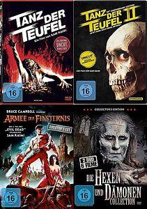 Evil-Dead-Sin-cortes-DANZA-EL-DIABLO-1-2-3-Coleccion-Completa-6-HEXEN-amp-DAMONEN