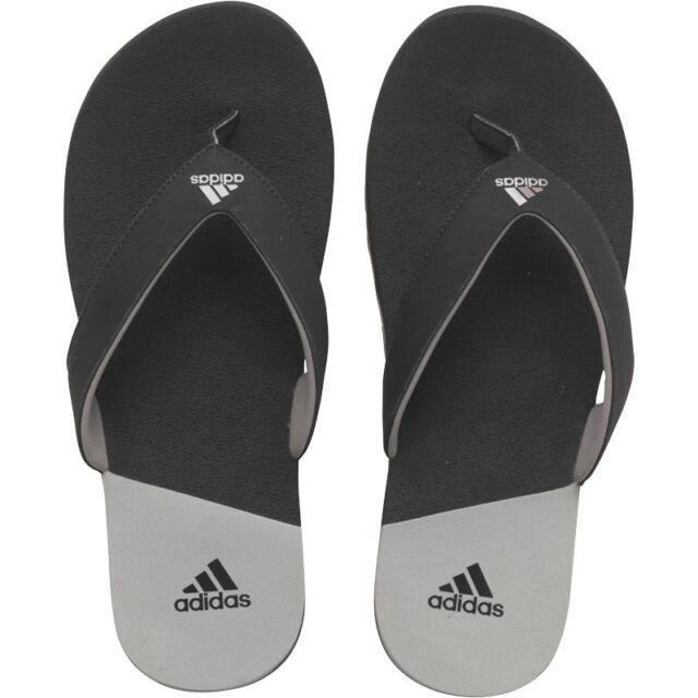 b9ec232c1b3491 Mens adidas Calo 3 Black Flip Flop Slides Toepost Sandals Size UK 7 ...