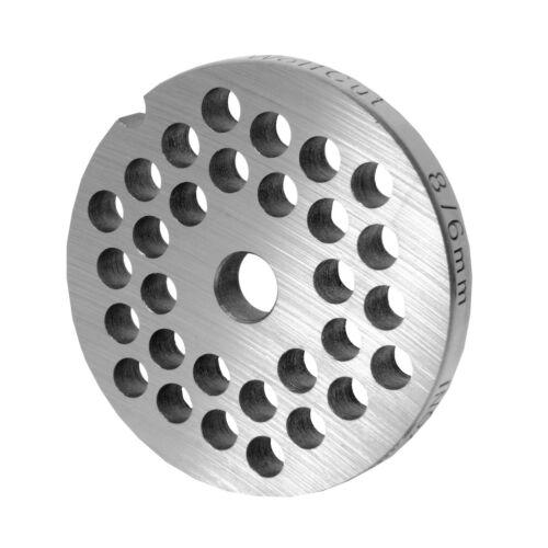 2mm+6mm und ein Sichelmesser Lochscheibensatz für Fleischwolf Größen 8