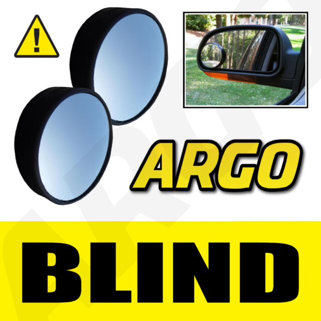 2 X BLIND SPOT CONVEX MIRRORS TOWING CAR SAFETY TOYOTA URBAN CRUISER