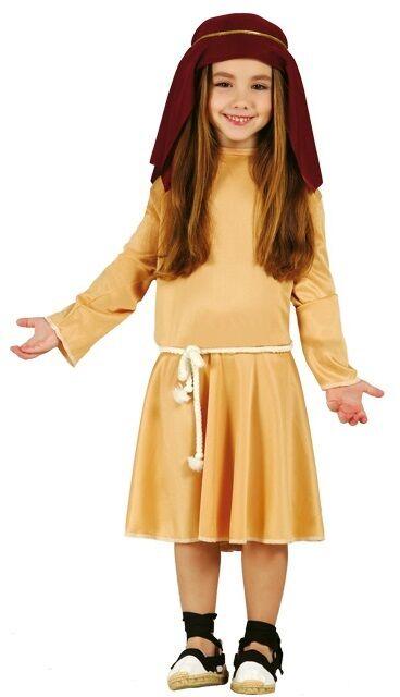 Mädchen Braune Weihnachten Krippenspiel Shäfer Shäfer Shäfer Kostüm Kleid Outfit 3-12 Jahre | Große Ausverkauf  | Neue Sorten werden eingeführt  | Wir haben von unseren Kunden Lob erhalten.  727c78