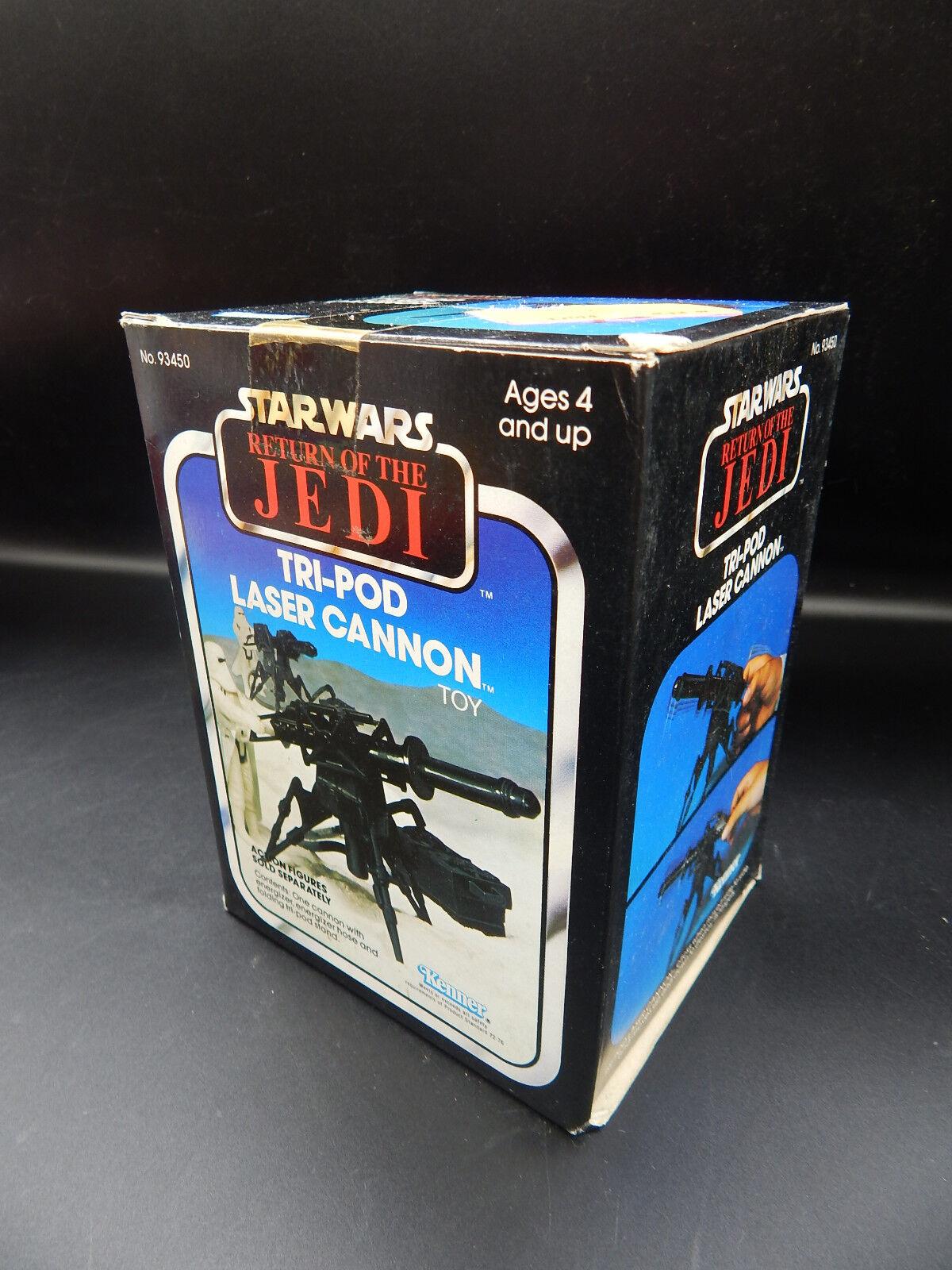 SEALED vintage Star Wars Wars Wars TRI-POD LASER CANNON Hoth accessory weapon ESB redJ mib 6d3f64