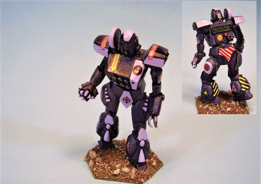 slåsstech målade miniatyr Cudgel slåssmech