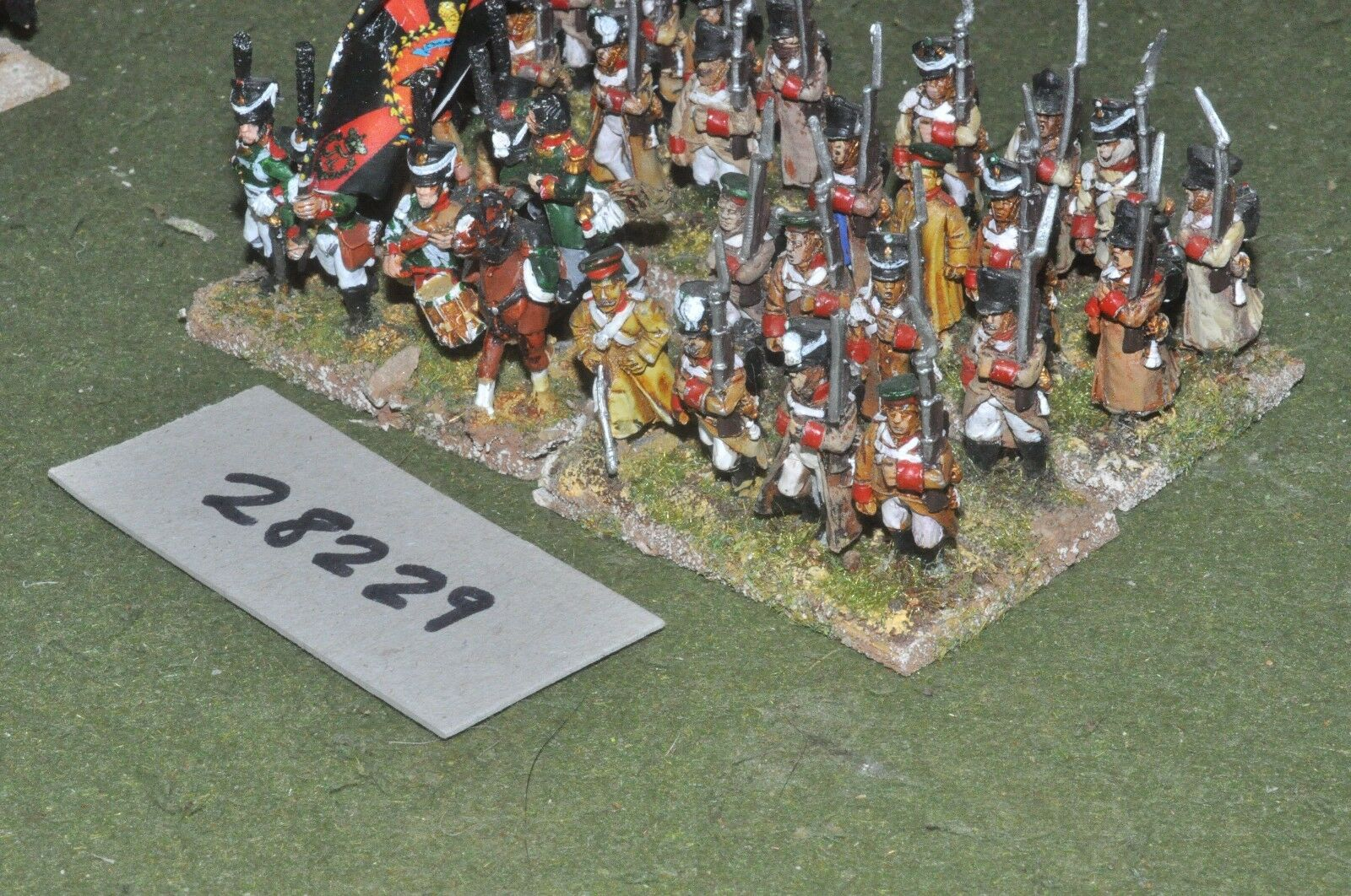 25mm napoleonic   russian - line 30 figures - - - inf (28229) 793593