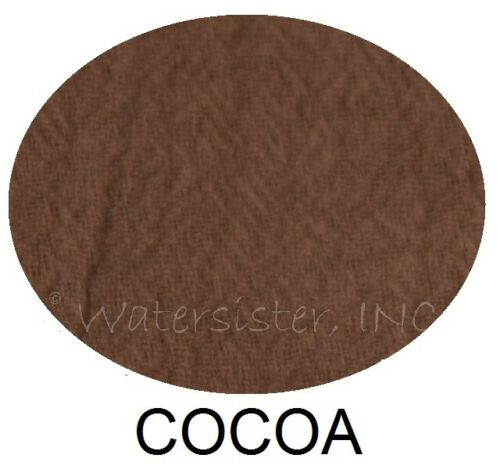 WATERSISTER Cotton Gauze  EEL SCARF  Patch Panel Long Fringe OSFM  2019 COLORS