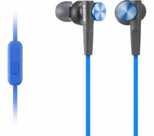 SONY-MDR-XB50AP-IN-EAR-SMARTPHONE-HEADPHONES-EARPHONES-MICROPHONE-amp-REMOTE-BLUE