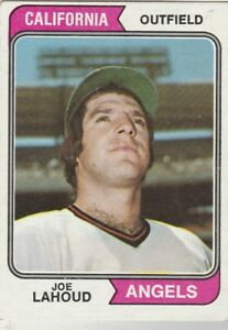 FREE-SHIPPING-MINT-1974-Topps-512-Joe-Lahoud-Angels