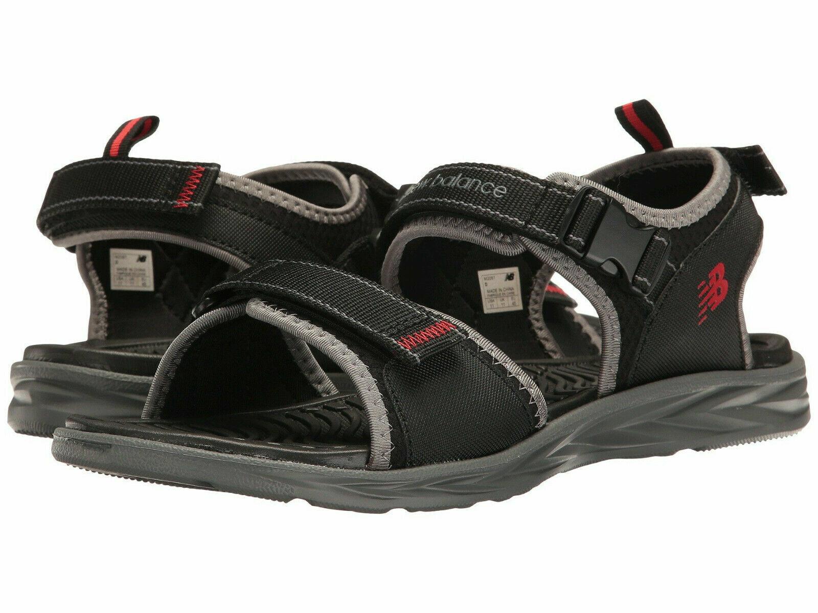 Men New Balance Response Adjustable Sandal M2067BGR Black Grey 100%Authentic New
