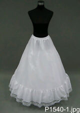A-LINE Petticoat Slip Bridal Gown Dress Crinoline Skirt