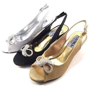 Platinum-46478-Mid-Thick-Heel-Dressy-Wide-Width-Slingbacks-Choose-Sz-Color