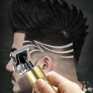 Electric Hair Clipper T-Blade Trimmer Cordless Barber Shavers Beard Haircut Kits