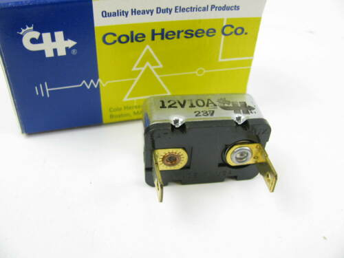 Cole Hersee 30401-10 12 Volt 10 Amp Circuit Breaker