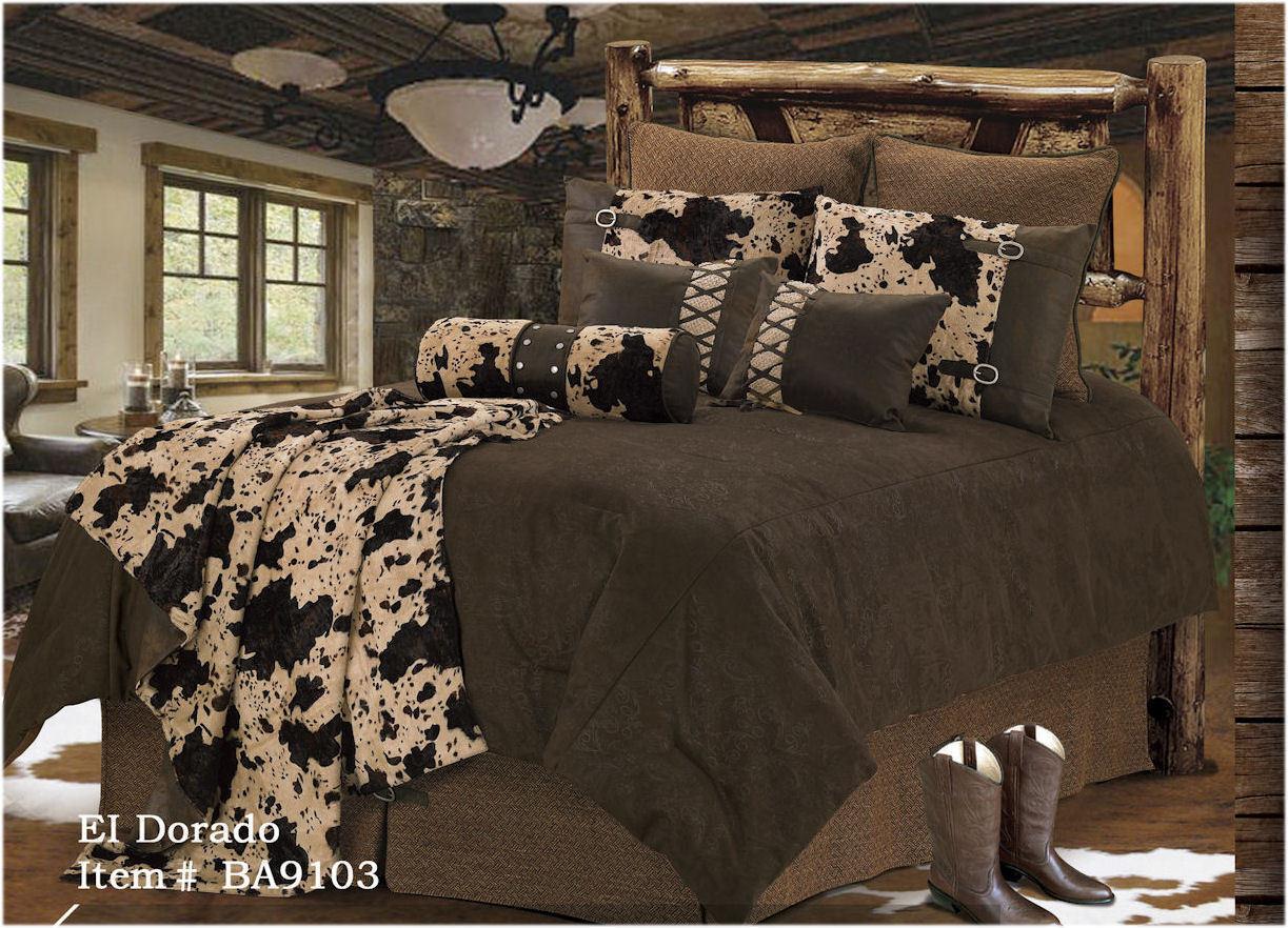 El Dorado - Western - 5 Piece Super Size Comforter Bedding Set - FREE SHIPPING