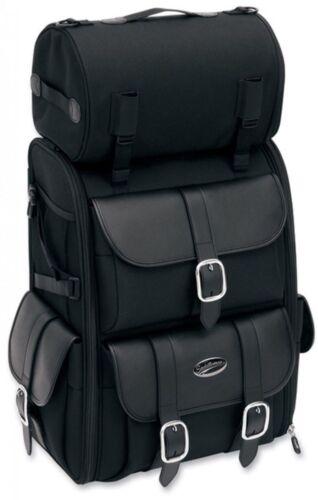 Saddlemen Saddlestow S3500 Sissy Bar Rear Luggage Rack Bag Pack Harley Universal