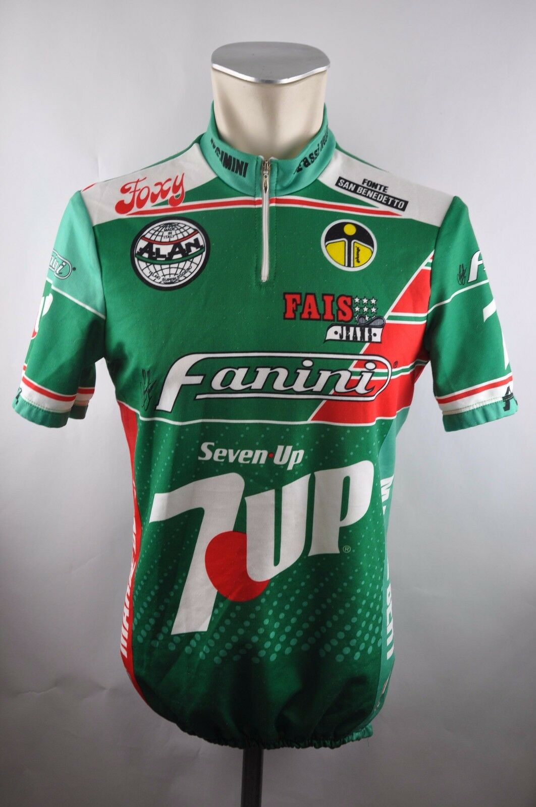 Erima  7up Seven Up GIESSEGI Fanini Cycling Jersey Bike Cycling Jersey Size 4 51cm u5  sale