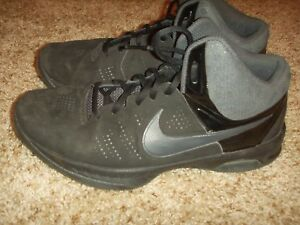 7a74dc3c3559 Nike Air Visi Pro VI 6 Black Basketball Shoes 749168-003 Mens Size ...
