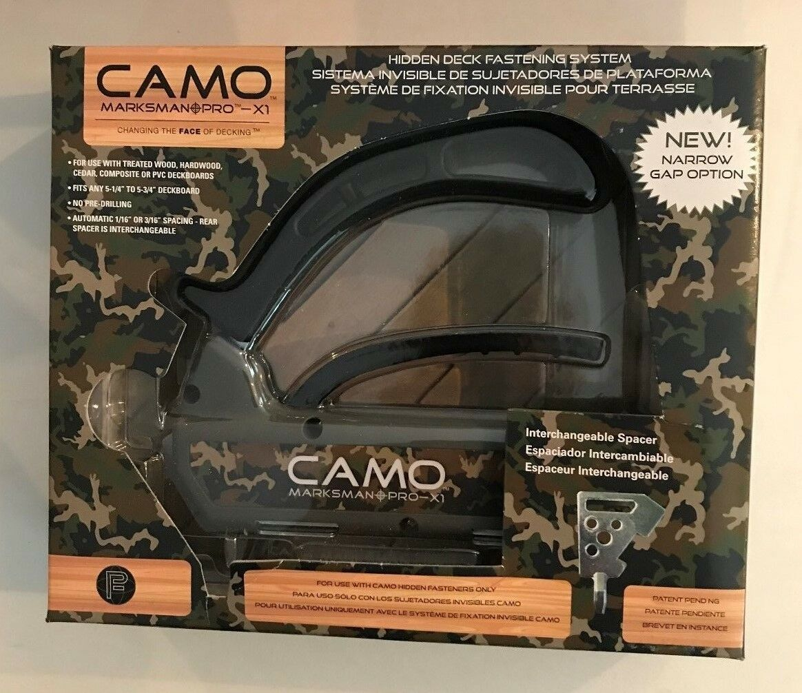 1 NEW Camo Marksmann PRO-1 Fastening Tool Plus 2 Replacent T-15 Bits
