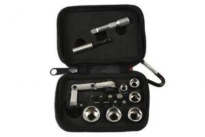 Laser-GIFT-IDEA-6945-Mini-Flexi-Ratchet-Socket-amp-Bit-Set-17pc-1-4-Drive-In-Case