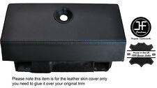 BLUE STITCHING GLOVE BOX LEATHER COVER FITS RENAULT ALPINE GTA V6