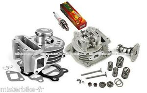 Cylindre-piston-culasse-bougie-pour-scooter-Kymco-Agility-Filly-50-4t