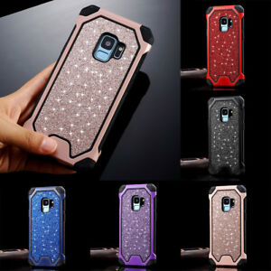 Bling-Sparkly-Bumper-Hybrid-Armor-Protective-Case-Cover-For-Samsung-Galaxy-S10