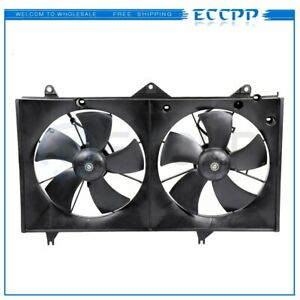 ECCPP Condenser Radiator Cooling Fan Assembly Replacement fit for 2002-2006 Toyota Camry 2.4L