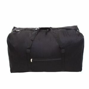 Mens-EXTRA-LARGE-BIG-Sports-Gym-Duffle-Holdall-Bag-TRAVEL-WORK-BLACK-WEEKEND