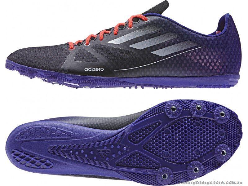reputable site bbb75 89c5d Adidas Adizero Ambition hommes pointes de course UK 9.5 US 10 EUR 44 ref  4392