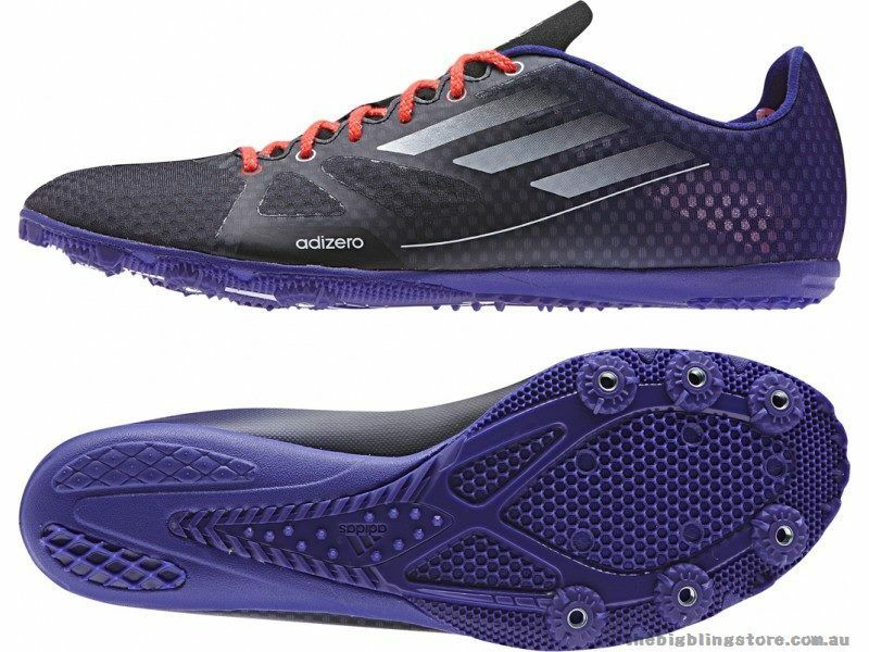 Adidas Adizero Ambition Homme Running Spikes UK 10 US 10.5 EUR 44 2/3 ref 6305 -