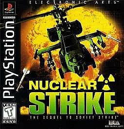 Nuclear-Strike-1999-Sony-Playstation-1-PS1-Game-Disc-Only-No-Case-Or-Manual