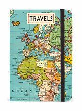 Cavallini & Co. Vintage Map Notebook 4x6