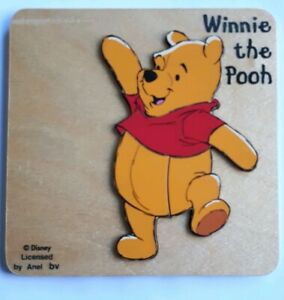 disney pooh bear two layer wooden puzzle