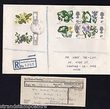 1967 Flowers - Plain - Stanford le Hope CDS - PRE-DATED ERROR