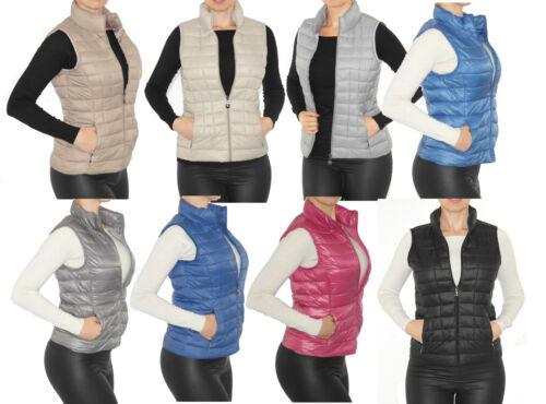 Donna Gilet trapuntato piumino-giacca-Optik leggermente morbido caldo