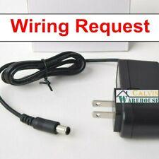 RigVision RVM7BALT RVM-7B-ALT 7 On Camera Monitor Power Supply Cord PwrON AC to DC Adapter for Elvid FieldVision OCM-7B-D