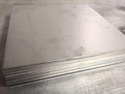 "4 Pieces Titanium Plate 6AL4V 2/"" x 6/"" X .287/"""