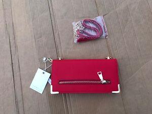 Image Is Loading New Isabelle Handbag Vegan Friendly Leather Zip Gold