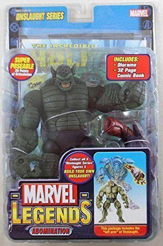 Marvel - legenden 13 abscheulichkeit geschmolzen gesicht variante toybiz hasbro hulk.
