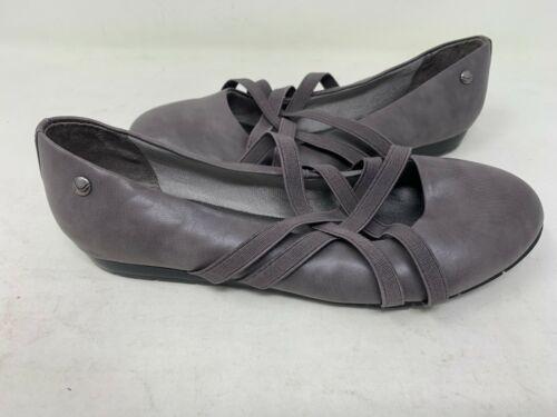 Life Stride Women/'s Nea Slip On Dress Flats Charcoal 151B tz NEW