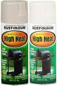 Rust Oleum 7751830 Spray Paint High Heat White 12 Oz