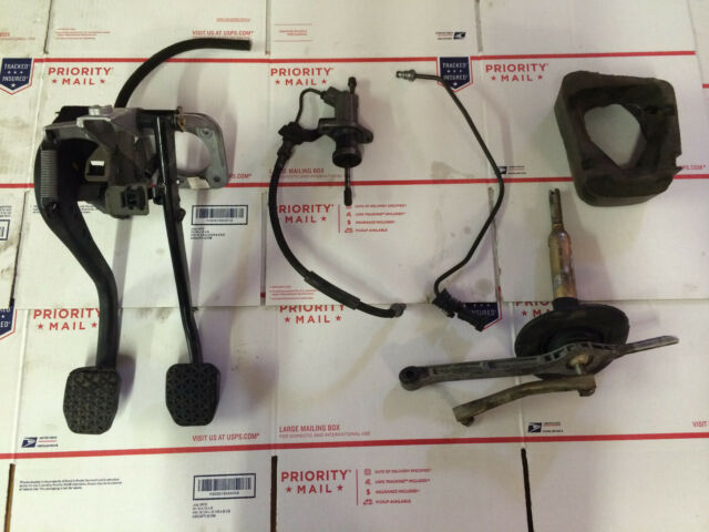 BMW E46 M3 6 Speed Manual Conversion Swap Parts Kit Pedals ...