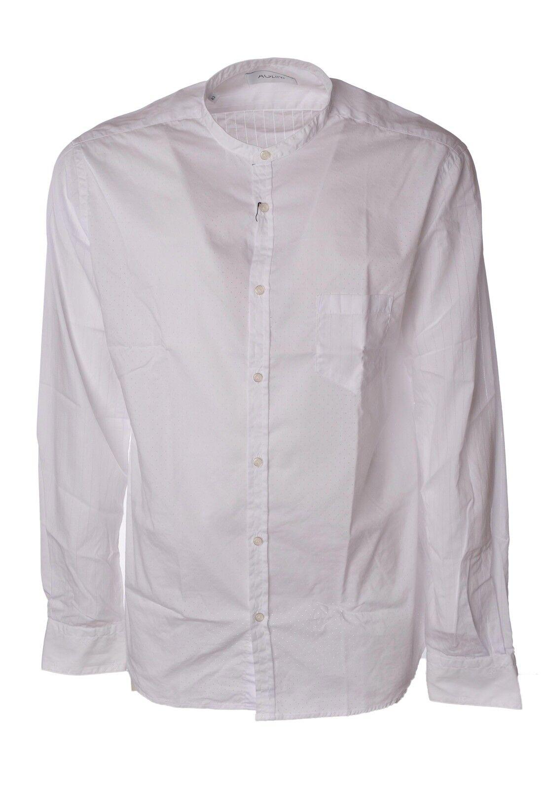 Aglini  -  Camicia - Uomo - Bianco - 3819129A185015