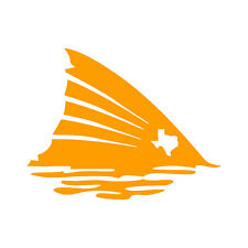 Redfish Tail with Texas Spot Decal Vinyl Sticker (Light Colors)