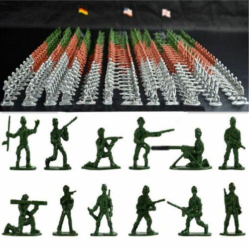 spielzeug 12 soldaten stellt armee männer zahlen plastik flugzeuge militär