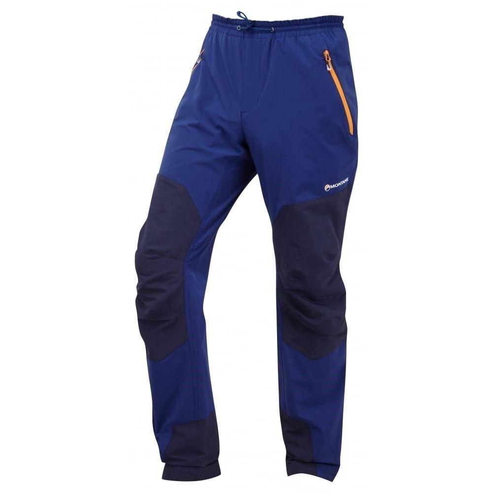 Montane Alpine Stretch Pants Men Escalar para Hombre Chaqueta Softshell Tamaño M