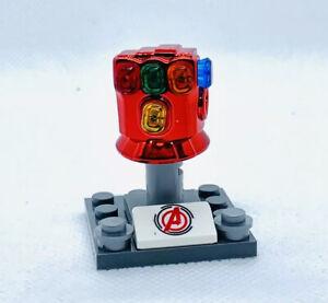 US SELLER - FITS LEGOS Purple Iron Man Custom Figure #83