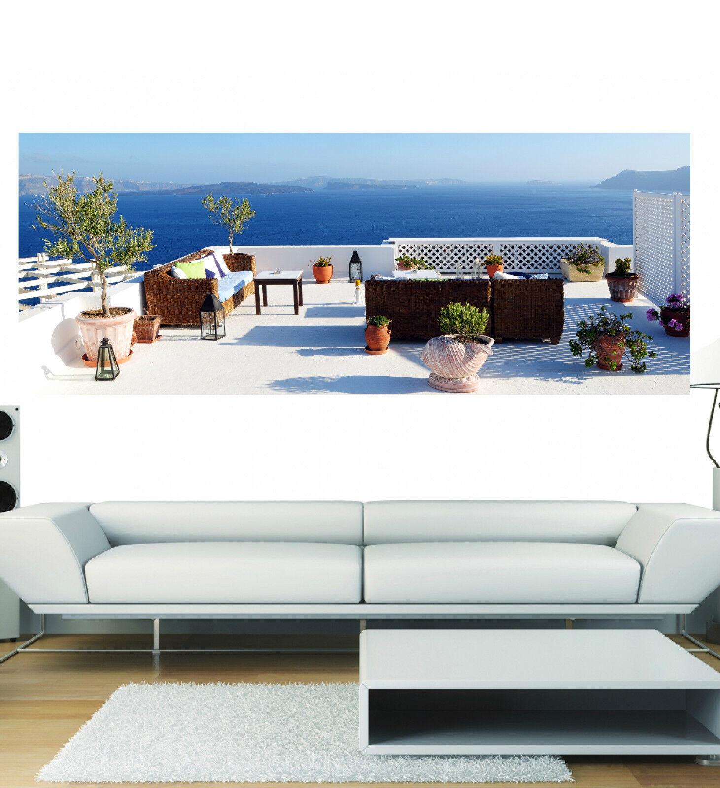 Aufkleber Panorama Deko der Griechenland Ref 3646 (13 Größe)