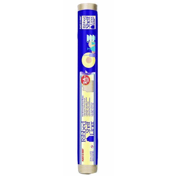 12 Pk.-12  X 10' Clear Plastic Waterproof Ribbed Shelf Liner Warp Bros. SPM110C
