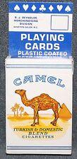 Camel Turkish & Domestic Blend Cigarettes Playing Cards Sealed Bridge Size